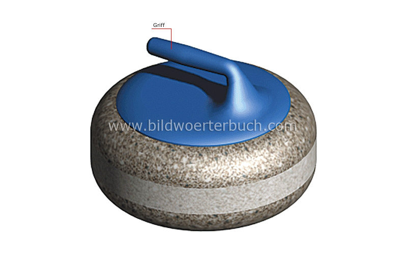 Curlingstein Bild